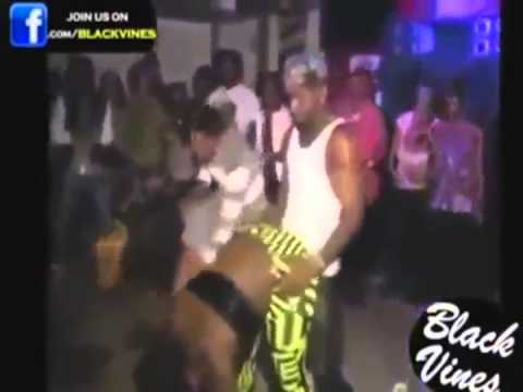 Funny Video- Jamaican Dancing With WWE Commentary Dubbed Over
