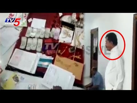 ACB Officers Raids on RTA Administrative Officer Ravinder House | TV5 News