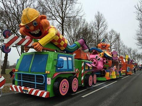 cv de neutenkrakers C.V. De Neutenkrakers in de Carnavalsoptocht van Pampus Lollebroek