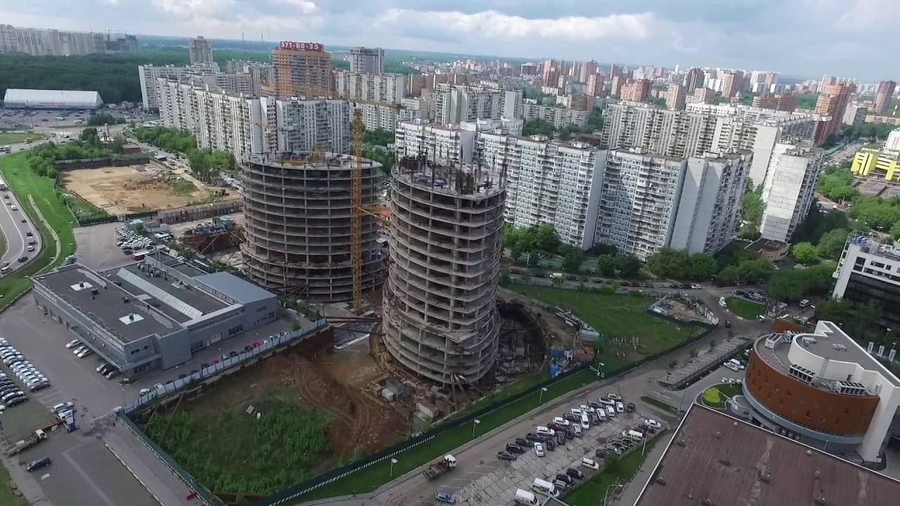 В Химках продолжается реконструкция нового здания для театра «Наш .