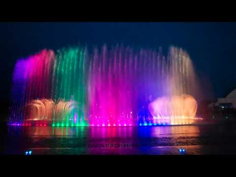 190614 BTS x BUSAN Fountain Show 4K Full