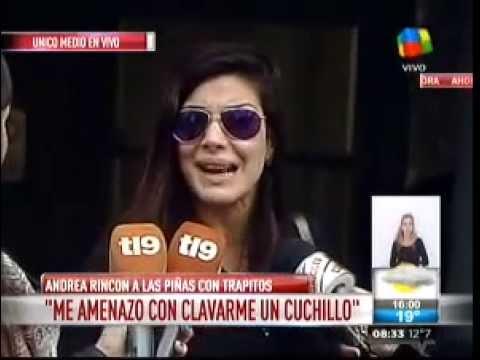 Andrea Rincón: Me amenazó con un cuchillo y me defendí