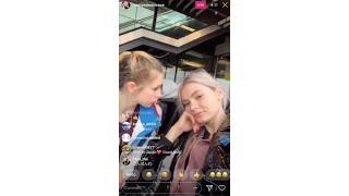 Анастасия Скопцова / Дарья Паненкова - Instagram Live - 30 октябрь, 2018