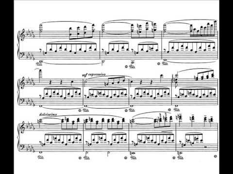 Franz Liszt - Consolation No  3, S172 by Vladimir Horowitz (with score)