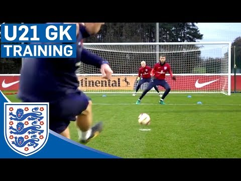 Double Goalkeeper Test - England U21 | Inside Training
