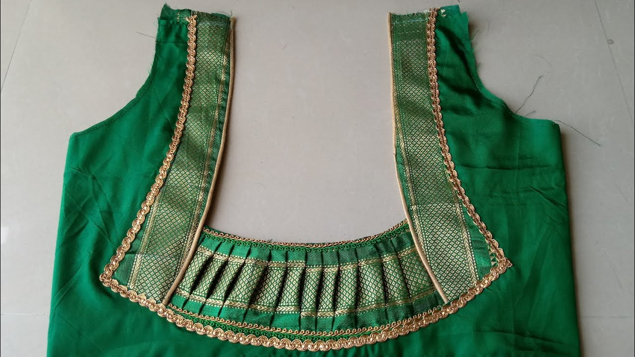 beautiful blouse design cutting and stitching  blouse