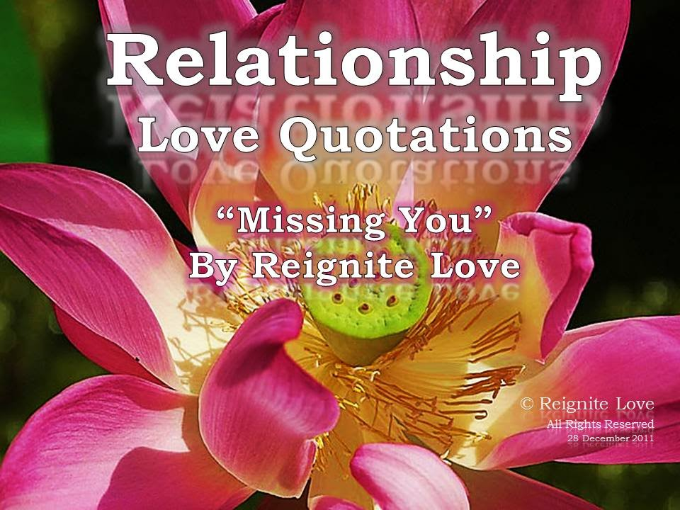 Missing You Quotes Long Distance Love Quotations Reignite Love