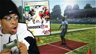 I Spent THREE DOLLARS To Play A Madden Career Mode Again ... Madden 10 Throwback