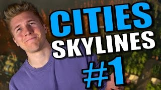 Cities Skylines: Natural Disasters - Alpine Villages Gameplay [Let's Play Natural Disasters] Part 1