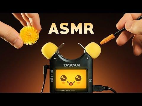 ASMR KAWAII TASCAM TINGLES   Mic Test Trigger Cuteness