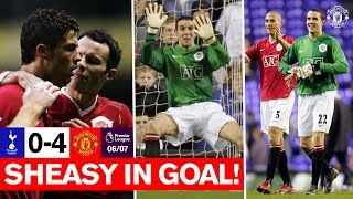 Sheasy in Goal! | Spurs 0-4 Manchester United (06/...