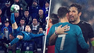 Gianluigi Buffon reveals what Cristiano Ronaldo said to him after THAT bicycle kick | Oh My Goal