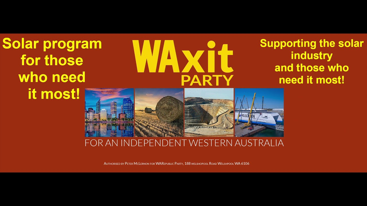WAXIT PARTY - Solar for those who need it the most
