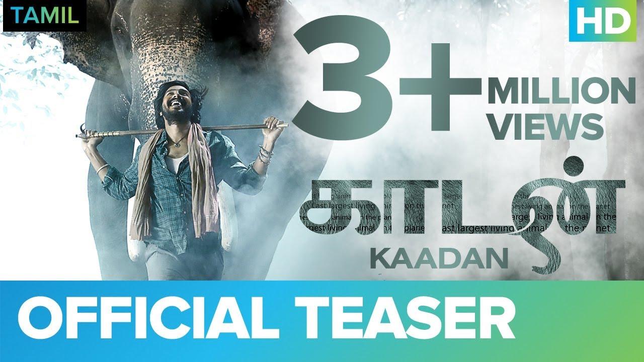 Download Kaadan (Tamil) Official Teaser | Rana Daggubati | Vishnu Vishal | Prabu Solomon | Shriya | Zoya