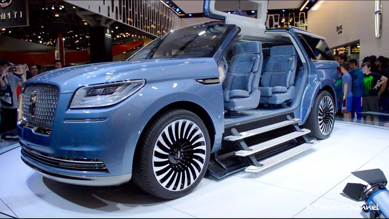 Omg 2017 Lincoln Navigator Concept World S Largest Suv