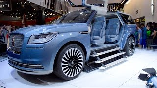 OMG! 2017 Lincoln Navigator Concept - World's Largest SUV?