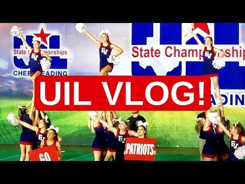 UIL Cheer Vlog!