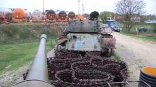 Doboj, groblje tenkova
