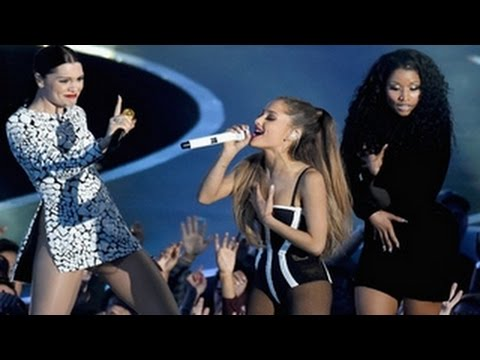 Ariana Grande, Nicki Minaj, Jessie J - Bang Bang - MTV VMA 2014 Performance Was Superb