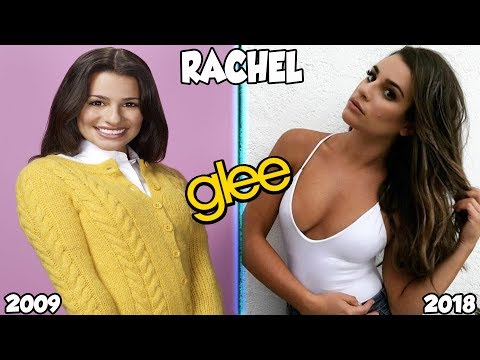 Glee Then And Now 2018