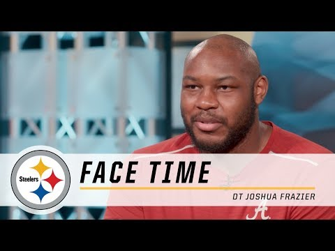 Steelers DT Joshua Frazier talks about his transition from Alabama to Pittsburgh | Face Time