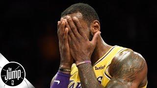 LeBron James shouldn't be ranked No. 1, but he shouldn't be No. 3 either - Matt Barnes | The Jump