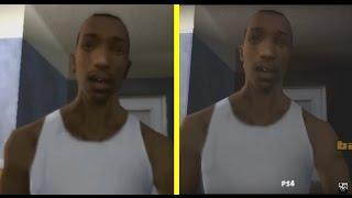 GTA: San Andreas PS2 vs PS4 Graphics Comparison