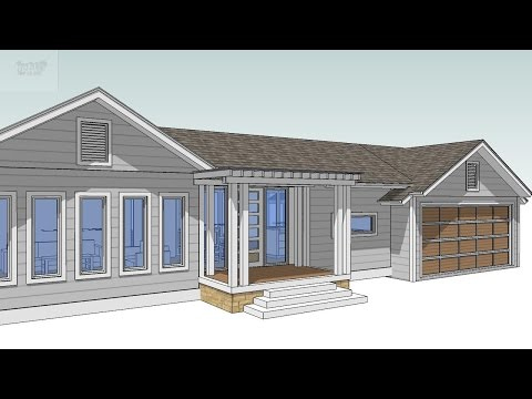How to Design your own home for Factory Built Housing using SketchUp