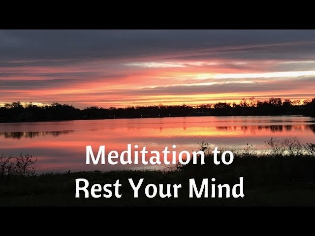 MEDITATION to Rest Your Mind - Soul Fitness Ep.52