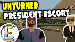 Video PRESIDENT ESCORT | Unturned Hostage RP - 2 Million dollar ransom (Roleplay) download MP3, 3GP, MP4, WEBM, AVI, FLV Januari 2018