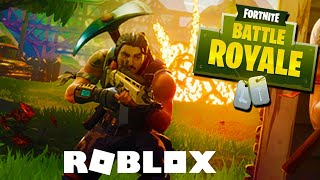 I PLAYED FORTNITE IN ROBLOX! -The Strucid
