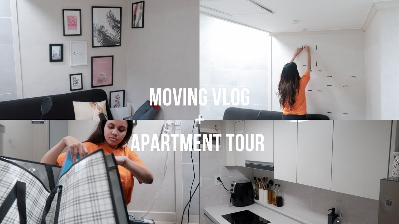 Seoul Apartment Hunting & House Tour + Moving Vlog   Annie Nova