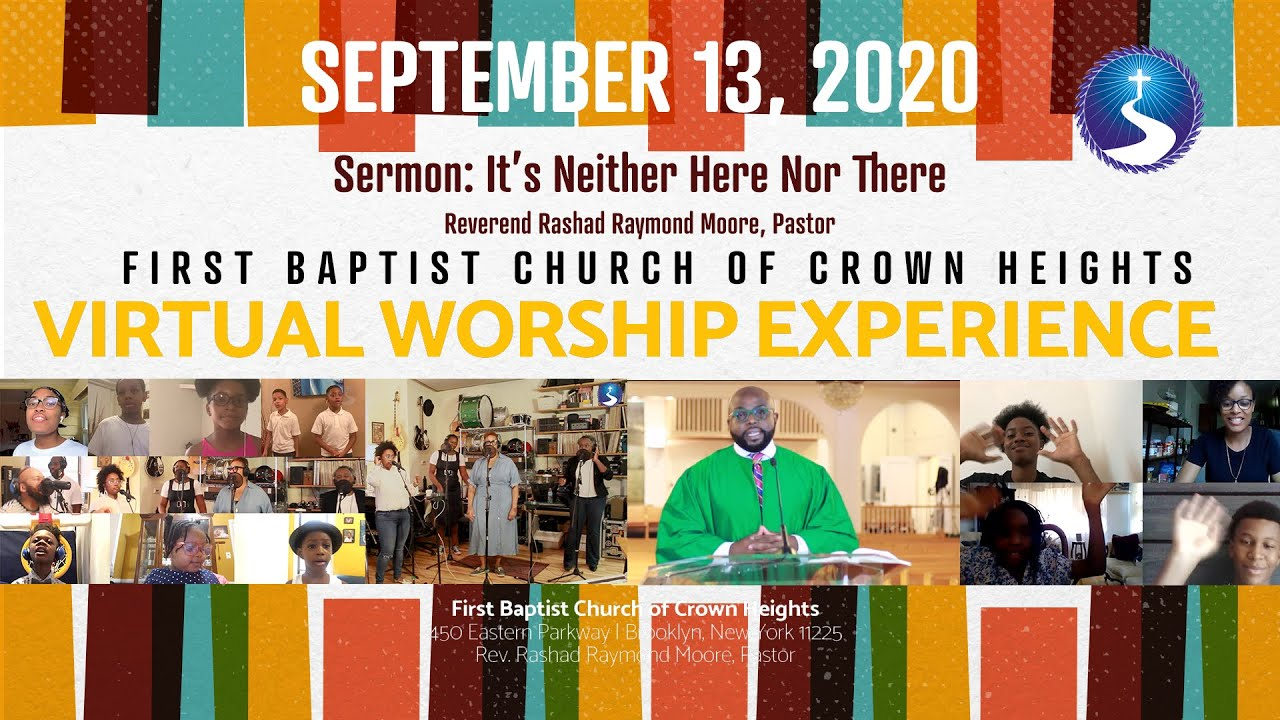 September 13, 2020: Back to School Sunday Virtual Worship Service