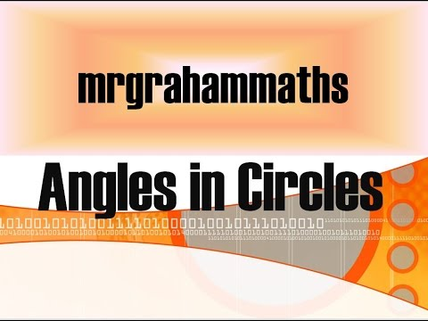 National 5 Maths - Angles in Circles
