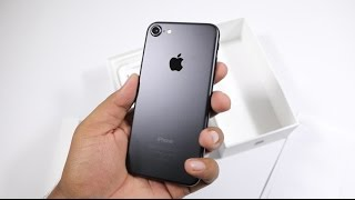 iPhone 7 India Unboxing (Black, 128 GB) & Hands on