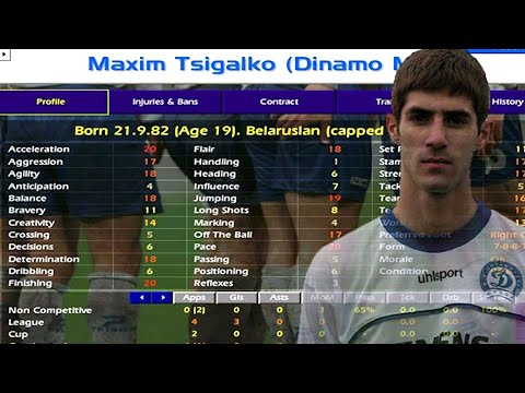 Football Manager legend MAXIM TSIGALKO has passed away at the age of 37