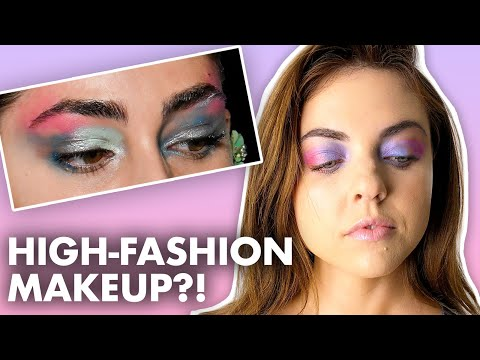 Recreating New York Fashion Week Makeup Looks! (Beauty Trippin) thumbnail