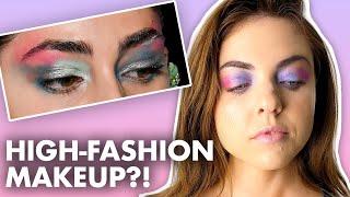 Recreating New York Fashion Week Makeup Looks! (Beauty Trippin)