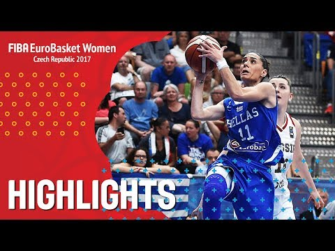 Russia v Greece - Highlights - QF-Qual - FIBA EuroBasket Women 2017