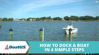 How To Dock In Four Simple Steps