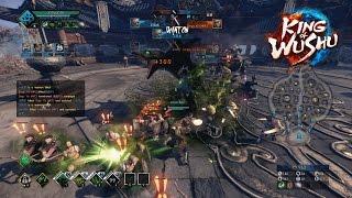 """King of Wushu (CN) - """"Snake Charmer"""" Fang gameplay (AI mode)"""