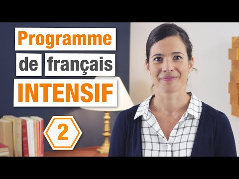 Programme de Français Intensif Niveau Intermédiaire