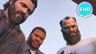 IT ALL ENDS HERE 😥 - Grand Theft Auto 5 - Ending