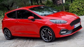 2018 Ford Fiesta ST - Exhaust Sound, Driving, Interior & Exterior   Italian Media Drive Event