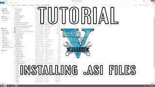 [Tutorial] Installing .ASI Files for GTA V