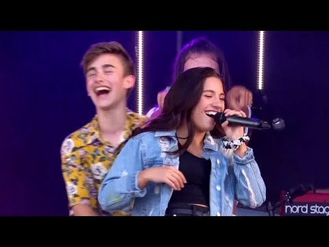 Johnny Orlando + Mackenzie Ziegler LIVE at CBBC Summer Social (Sunday, 5/8/18)
