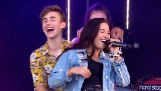 Download Johnny Orlando + Mackenzie Ziegler LIVE at CBBC Summer Social (Sunday, 5/8/18)