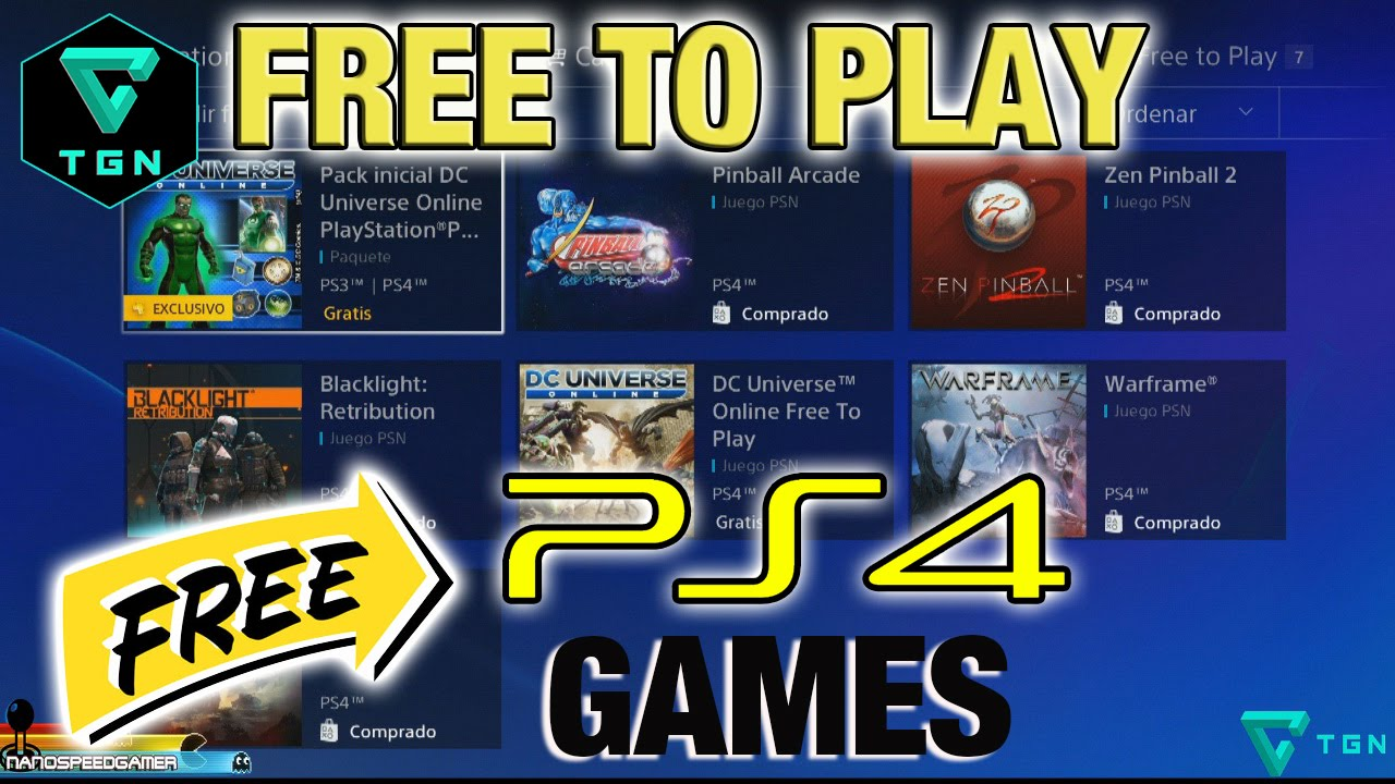 Free To Play Ps4 Juegos Gratis Ps4 Youtube