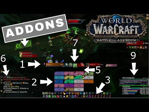MUST HAVE!!! ADDONS FOR BFA! 8.0 GUIDE