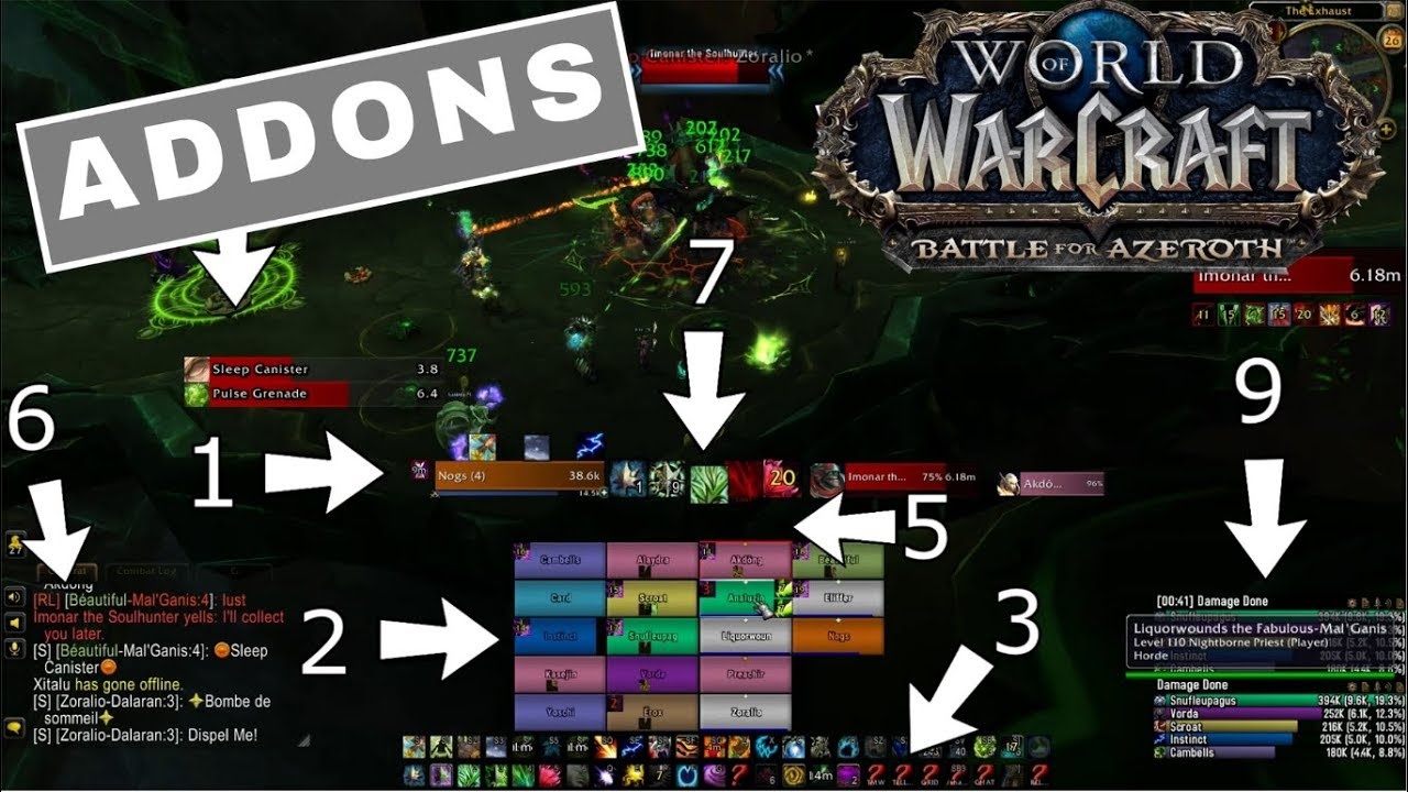 MUST HAVE!!! ADDONS FOR BFA! 8 0 GUIDE